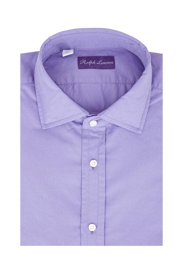 Ralph Lauren Solid Lilac Sport Shirt