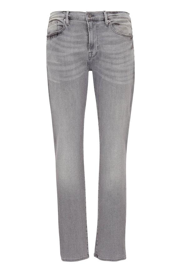 Frame L'Homme Light Gray Skinny Fit Jean