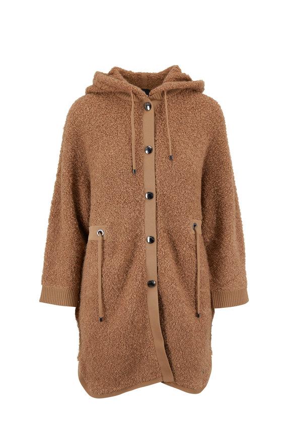 Bogner Reena Camel Fuzzy Jacket