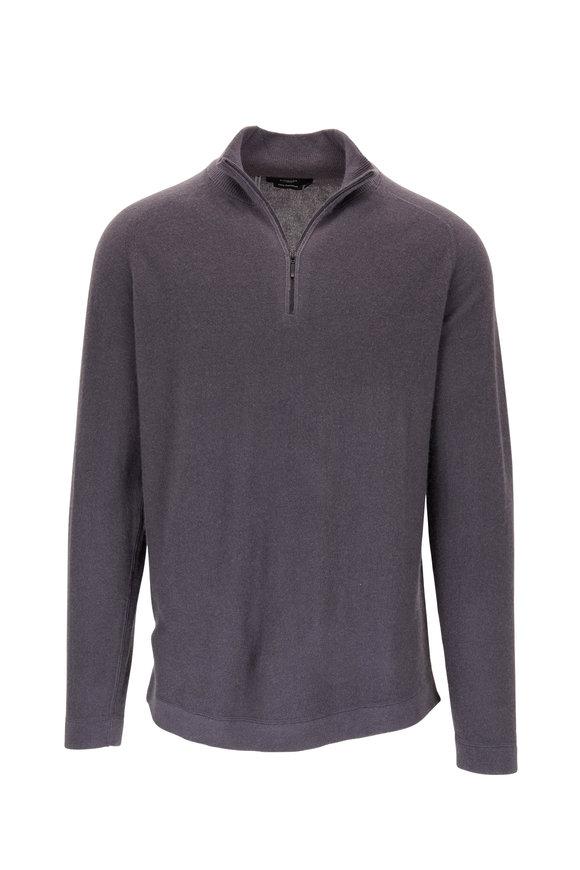 Kinross Charcoal Gray Quarter Zip Pullover