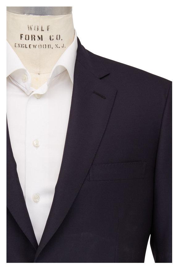 Brioni Navy Blue Wool Suit