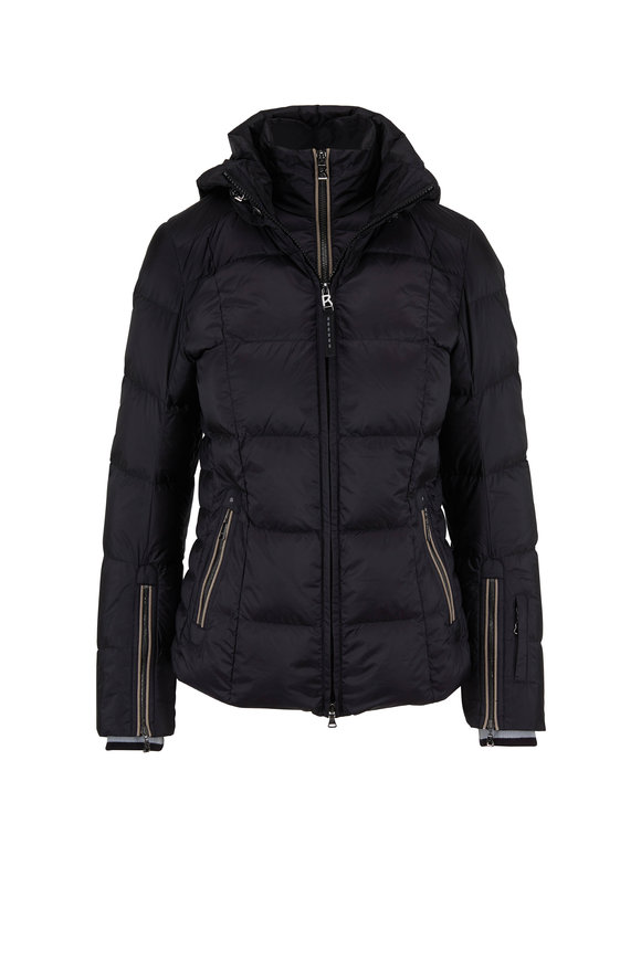 Bogner Sanne-D Black Nylon Puffer Jacket