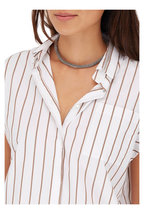 Brunello Cucinelli - Silver Monili Tubular Choker Necklace