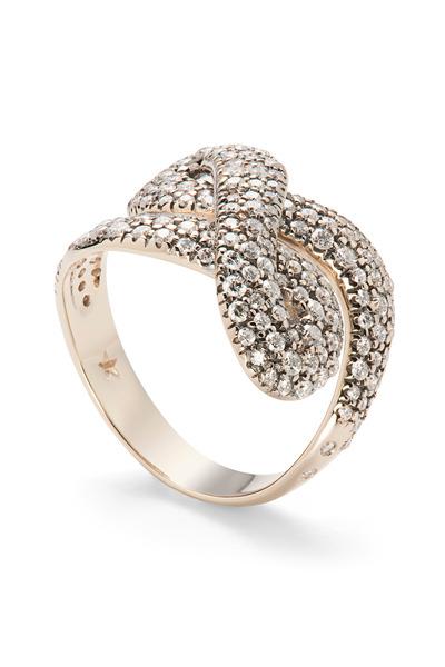 H. Stern - Noble Gold Diamond Celtic Dunes Ring