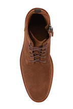 Aquatalia - Leaston Chestnut Suede Weatherproof Boot