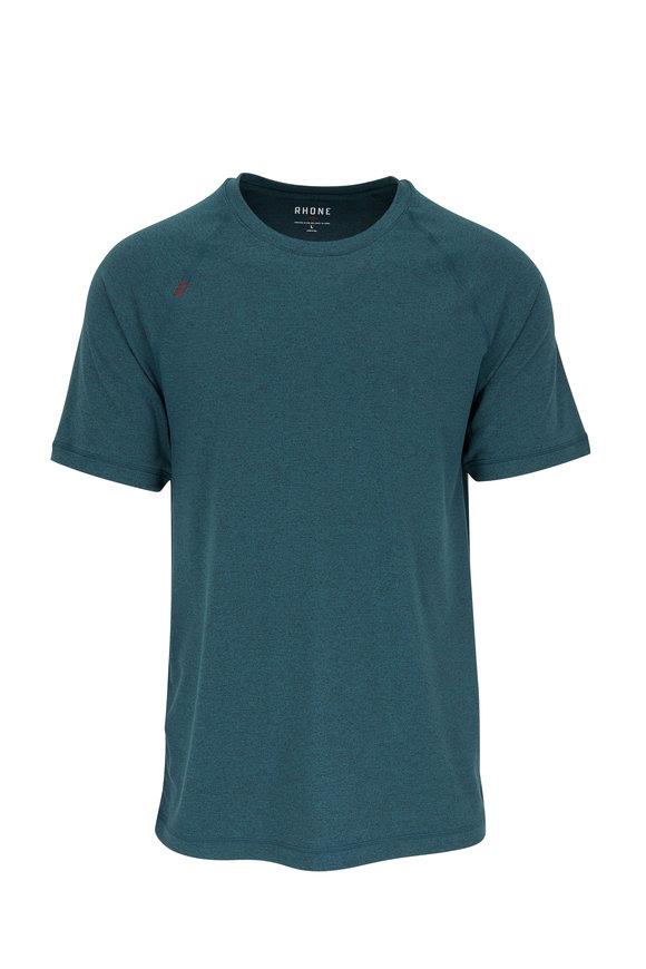 Rhone Apparel Reign Ponderosa Pine Heather Short Sleeve Shirt