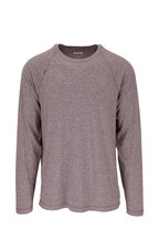 Rhone Apparel - Reign Black Coffee Heather Long Sleeve Shirt