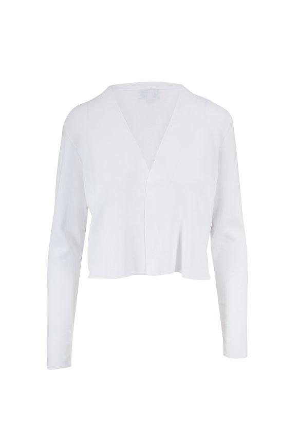 Kinross White Open Front Dress Cardigan
