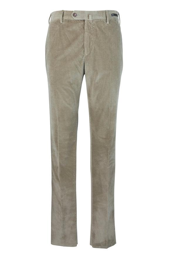 PT Pantaloni Torino Tan Stretch Corduroy Pant