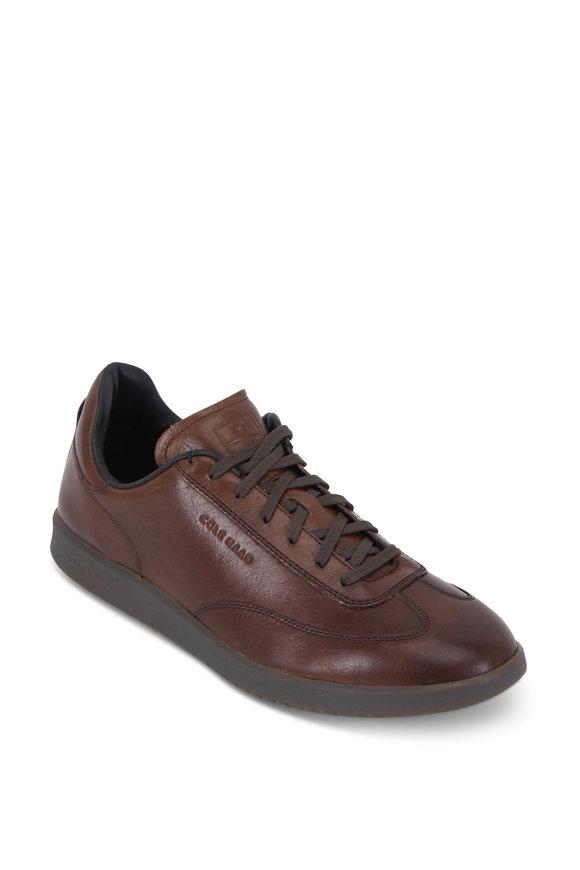 Cole Haan GrandPrø Beechwood Leather Turf Sneaker
