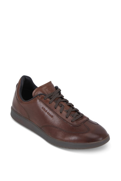 Cole Haan - GrandPrø Beechwood Leather Turf Sneaker