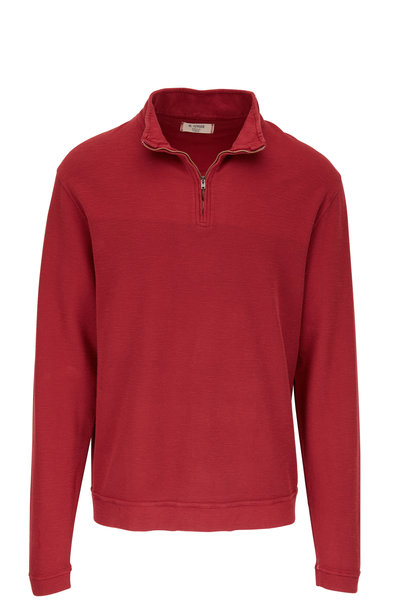 M.Singer - Radicco Cotton Quarter-Zip Pullover