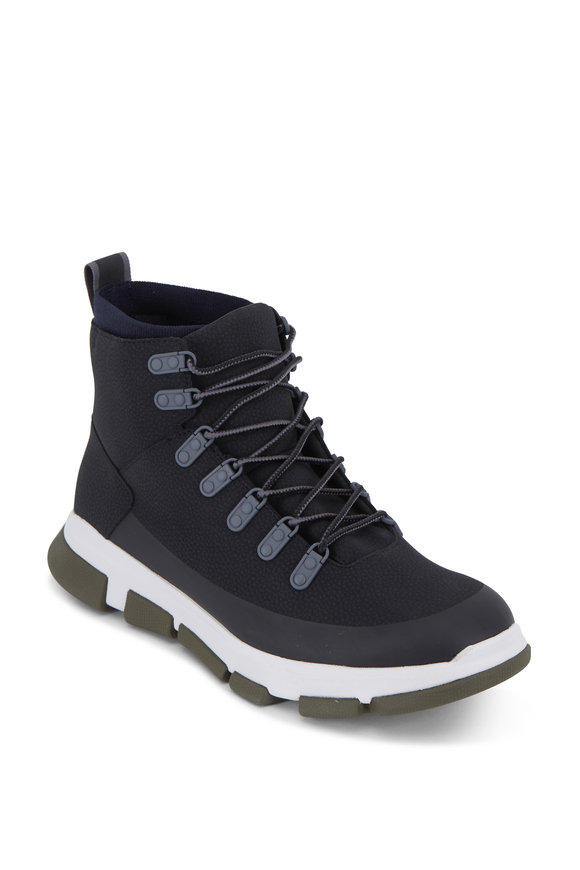 Swims City Hiker Black & Gray & Olive Waterproof Boot