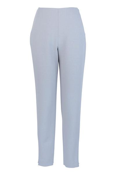 Giorgio Armani - Mist Stretch Wool Slim Pant