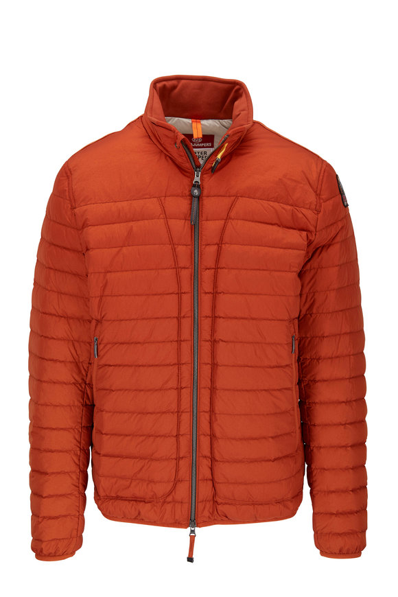 Parajumpers Winter Tripper August Caramel Quilted Down Jacket