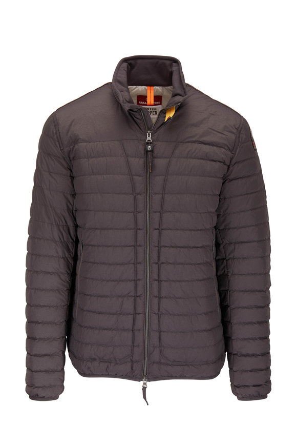 Parajumpers Winter Tripper August Gray Quilted Down Jacket