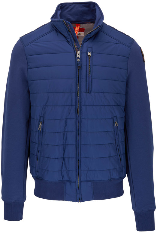 Parajumpers Elliot Navy Quilted Jacket