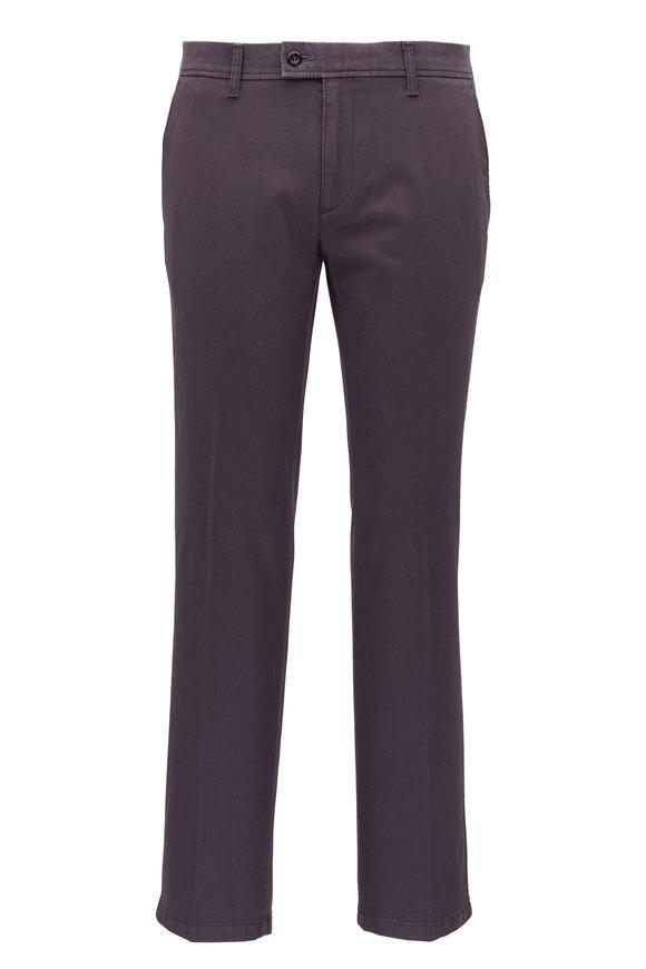 Brax Evans Asphalt Flat Front Pant