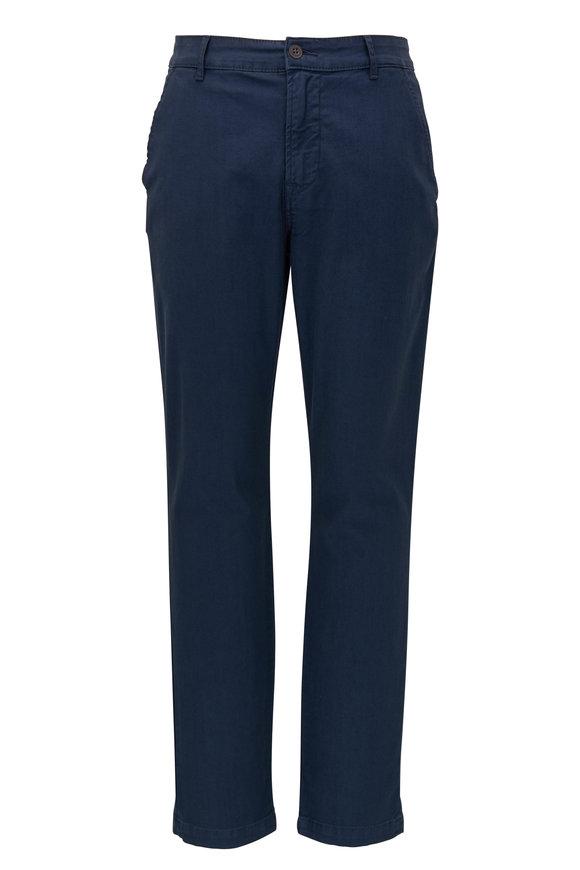 Hudson Clothing Navy Slim Straight Chino