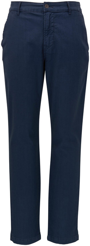Hudson Clothing Navy Slim Straight Chino