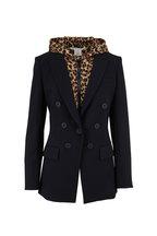 Veronica Beard - Leopard Puffer Hooded Dickey