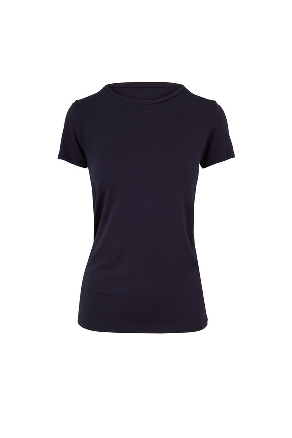 Majestic Basic Denim Blue Superwashed Soft Touch T-Shirt