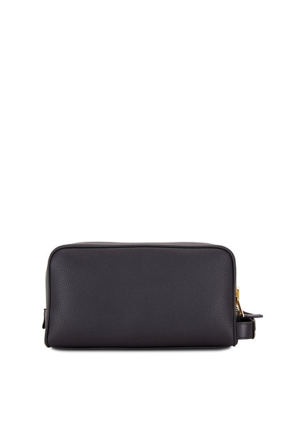 Tom Ford - Black Grained Leather Double-Zip Large Case