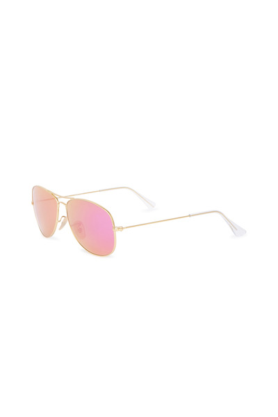 Ray Ban - Cockpit Gold Aviator Sunglasses