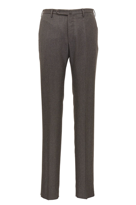 Incotex Matty Brown Flannel Modern Fit Pant