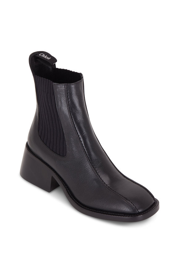 Chloé Odissea Black Double Gore Ankle Boot, 50mm