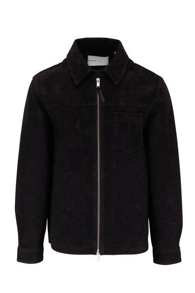 BLDWN - Sedgwick Black Suede Jacket