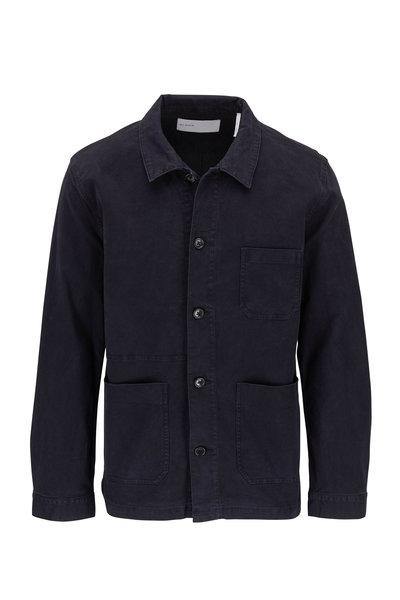 BLDWN - Herko Black Front Button Jacket