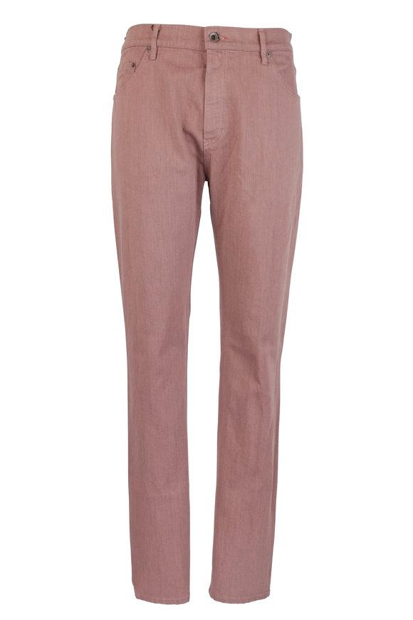 Raleigh Denim Martin Canon Stretch Cotton Five Pocket Jean