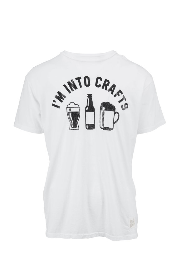 Retro Brand I'm Into Crafts Graphic T-Shirt