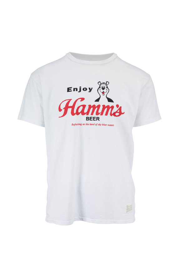 Retro Brand White Hamm's® Graphic T-Shirt