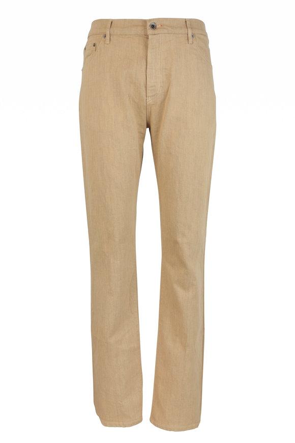 Raleigh Denim Martin Honey Stretch Cotton Five Pocket Jean