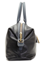 Lanvin - Padam Black Leather Medium Bowling Satchel