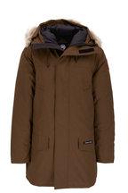 Canada Goose - Langford Military Green Fur Trim Hood Parka