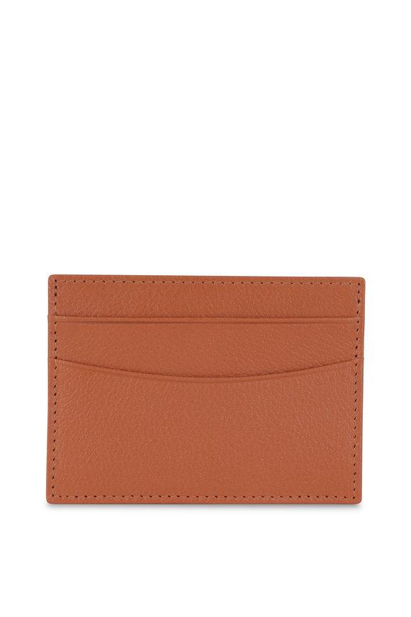 Ettinger Leather Tan Leather Card Case