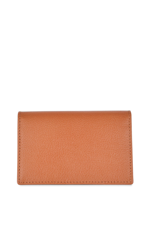 Ettinger Leather Tan Leather Card Case