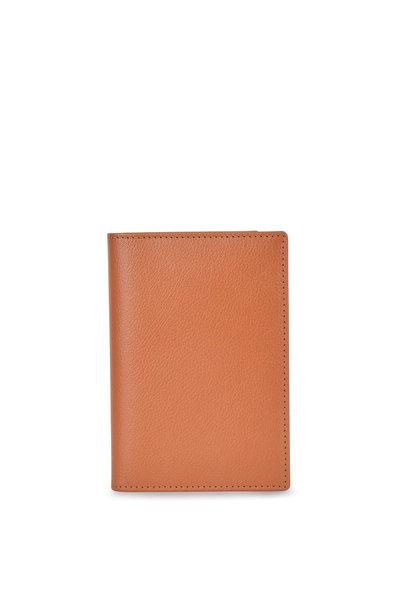 Ettinger Leather - Tan Leather Passport Holder