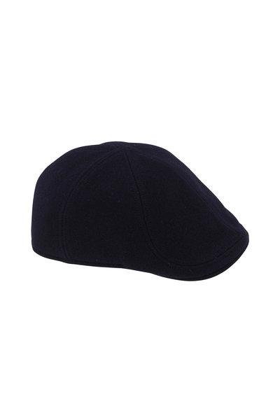 Wigens - Navy Wool Pub Cap