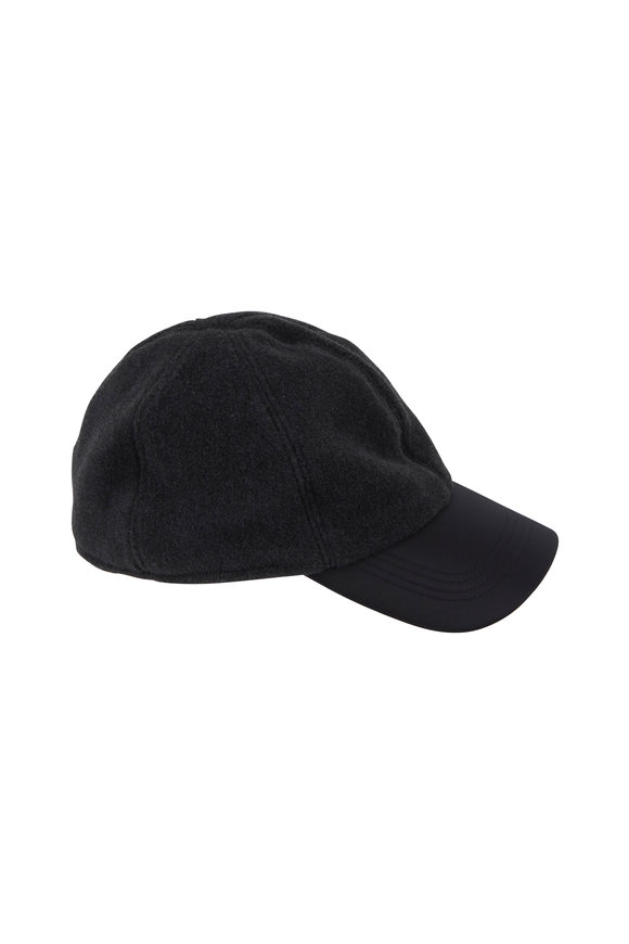 Wigens Charcoal Gray Fleece Hat