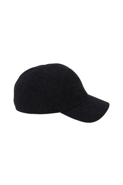 Wigens - Gray Wool Earflap Cap