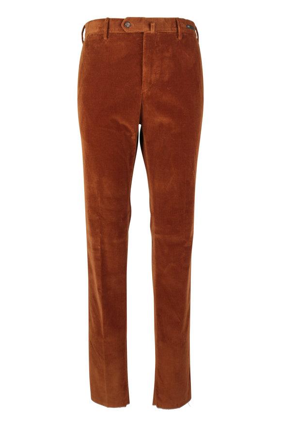PT Pantaloni Torino Rust Stretch Corduroy Slim Fit Pant