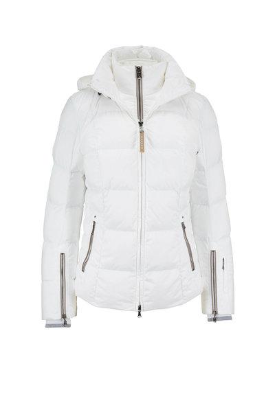 Bogner - Sanne White Short Puffer Coat