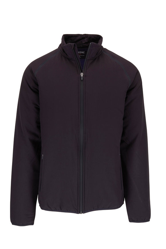 Rhone Apparel Midtown Navy Front Zip Jacket