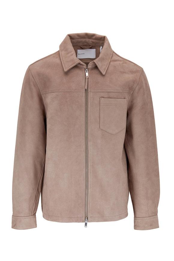 BLDWN Sedgwick Suede Tan Jacket
