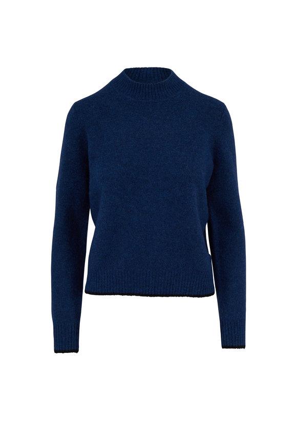 Vince Hydra/Black Contrast Tip Sweater