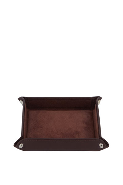 Ettinger Leather - Chestnut Leather Travel Tray